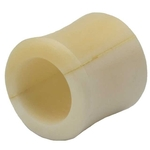 00 Gauge Organic Bone Hollow Saddle Ear Plug image