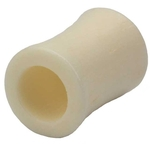 0 Gauge Organic Bone Hollow Saddle Ear Plug image