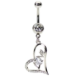 Love Belly Button Ring image