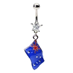 Flag of Australia Belly Ring image