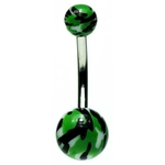 Camo Belly Button Ring image