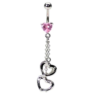Naughty Girls Need Naughty Belly Button Rings