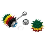 Vibrating Tongue Ring Rasta Koosh image