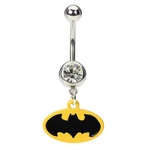 Batman Belly Button Ring image