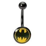 Batman Logo Belly Ring image