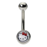 Hello Kitty Belly Button Ring image