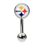 Pittsburg Steelers Belly Button Ring image