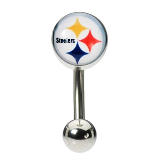 Pittsburg Steelers Belly Button Ring