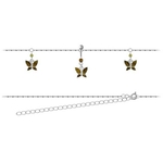 Butterfly Belly Chain for Pierced Navels image