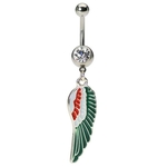 Wing Belly Button Ring image