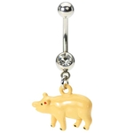 Pig Belly Button Ring image
