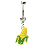 Cornstalk Belly Button Ring image