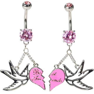 Sparrow Belly Button Rings - Best Friends