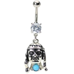 Indian Head Belly Button Ring image