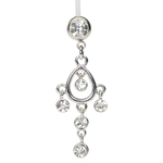 Made to Fit Nickel Free Belly Ring image