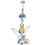 Tinkerbell Belly Button Ring image