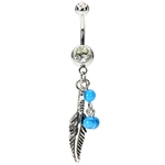 Vintage Dream Catcher Belly Piercing image
