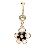 Rose Gold Belly Button Rings image