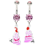 Sweet Bitches Belly Button Rings image