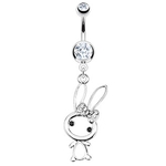 Bunny Belly Button Ring image