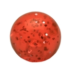 Orange Glitter Acrylic Replacement Ball Top- 6mm, 14 GA image