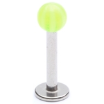 Green Candy Stripes Labret/Monroe image