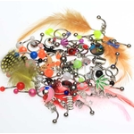 50 Pack Belly Button Rings image