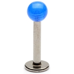 Blue Glow Ball Labret / Monroe image