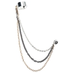 Triple Chain Ear Cuff image