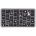 36 Compartment Jewelry Box - Pearl Grey image