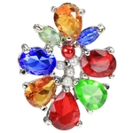 Reverse Cluster Belly Button Ring image