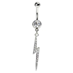 Lightning Bolt Belly Button Ring image