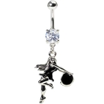 Dancer Belly Button Ring image