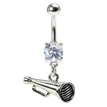 Megaphone Belly Button Ring image