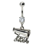 Cheer State Champ Belly Ring image