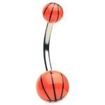 Basketball Belly Button Ring image