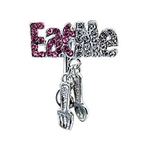 Top Down Eat Me Fork & Spoon Navel Ring image