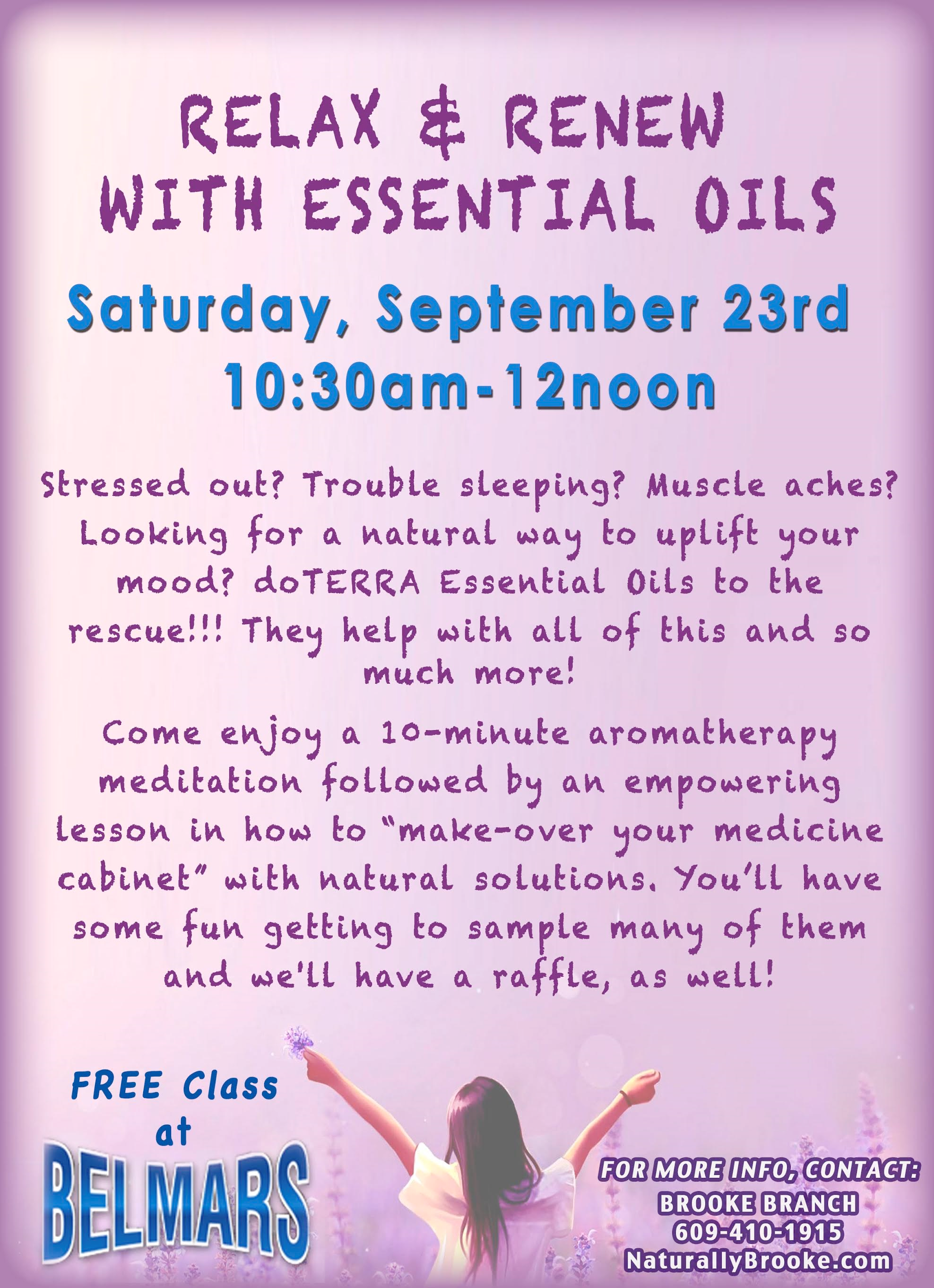 Free Class Essential Oils
