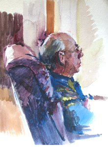 Grandpawatercolor