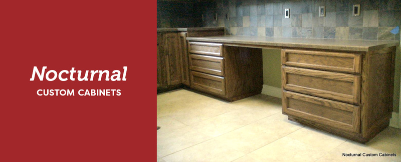 nocturnal custom cabinets specializes in kitchen cabinets and