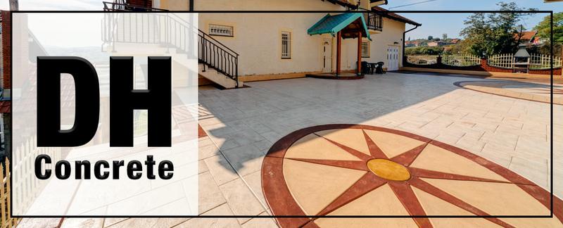 DH Concrete Offers Stamped Concrete in Sacramento, CA