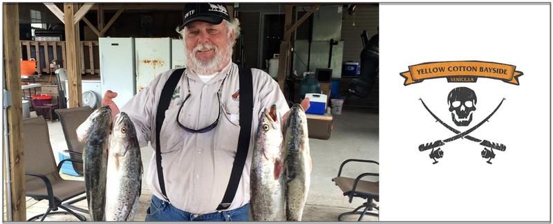 Yellow cotton bayside offers fishing charters in baton for Fishing in baton rouge