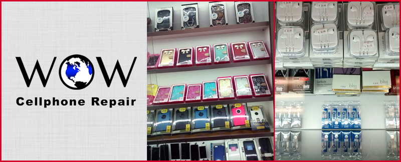 WOW Cellphone Repair Provides Cell Phone Accessories in Silver Spring, MD