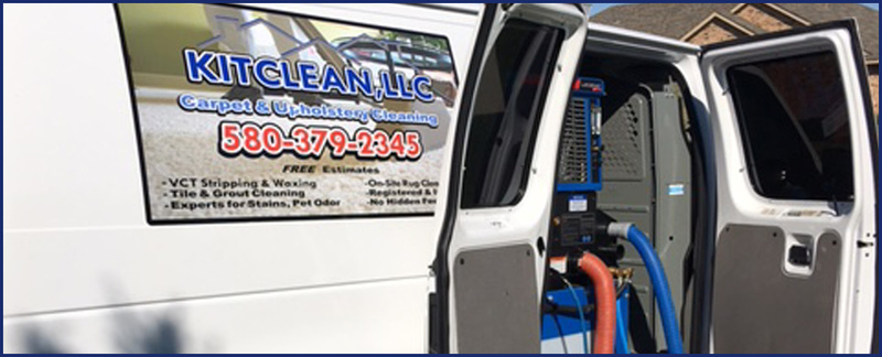 KitClean, LLC Performs Carpet Cleaning in Altus, OK