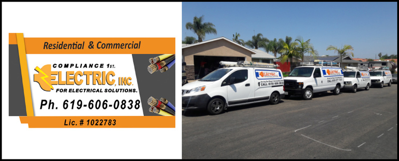 Compliance 1st Electric Inc.  is a Residential Electrician in Chula Vista, CA