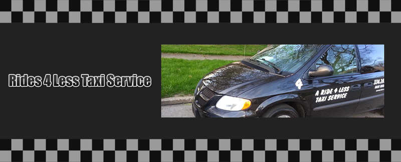 Rides 4 Less Taxi Service is an Airport Taxi in Akron, OH