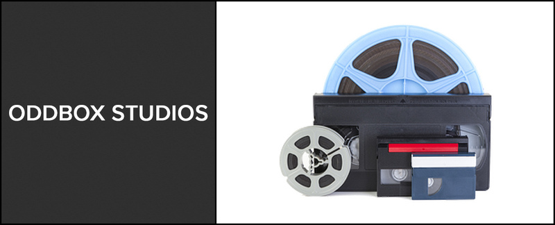 Oddbox Studios  Performs 8mm Film Transfer and VHS Transfer Service in Fredericksburg, VA