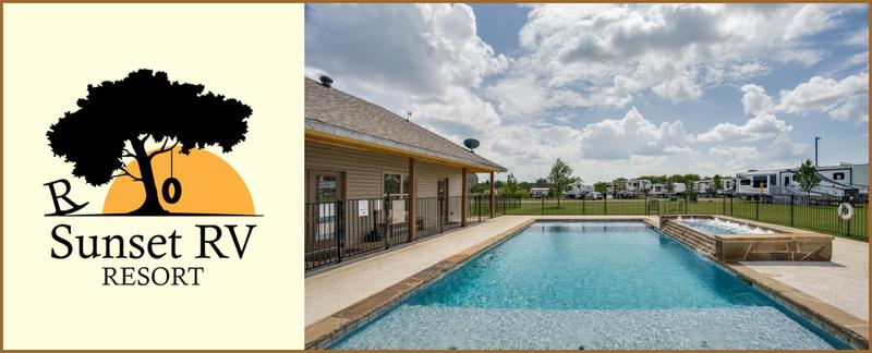 Rockin' Sunset RV Offers Swimming Pool in Terrell, TX