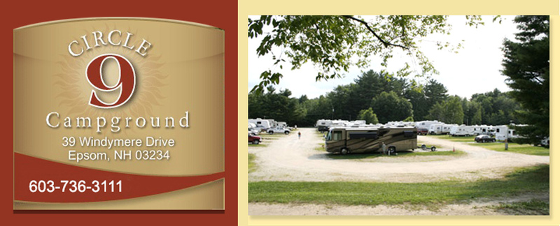 Circle 9 Ranch Campgroundhas RV sites in Epsom, NH