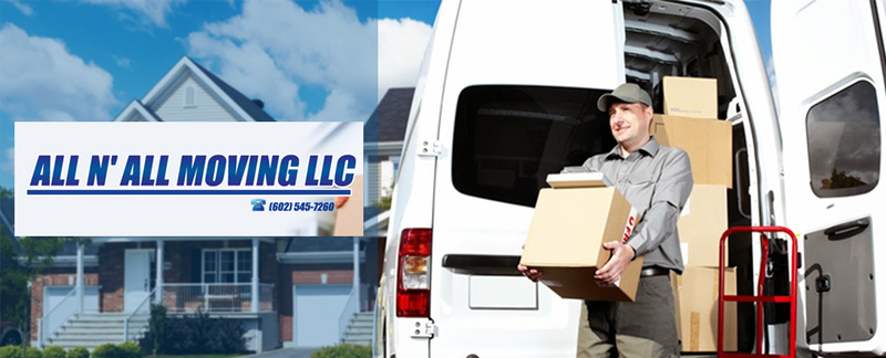 All N All Moving LLC provides relocation services in Peoria, AZ